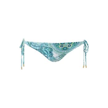 Плавки бикини с принтом Cancun и завязками по бокам Melissa Odabash