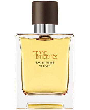 Terre d'Hermès Eau Intense Vétiver Eau de Parfum, 1,7 унции. HERMÈS