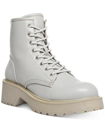 Армейские ботинки Carra на шнуровке с выступом Madden Girl