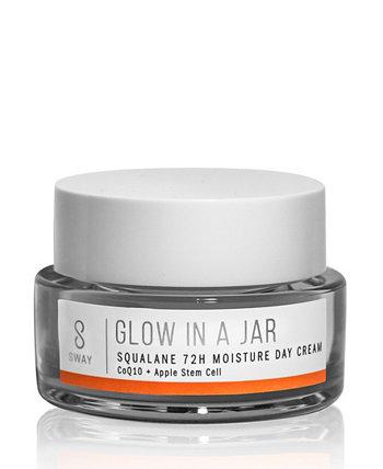 Glow in A Jar Squalane 72-часовой увлажняющий дневной крем SWAY