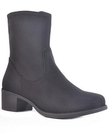 Водонепроницаемый нейлоновый ботинок средней высоты для женщин Manhattan Dav