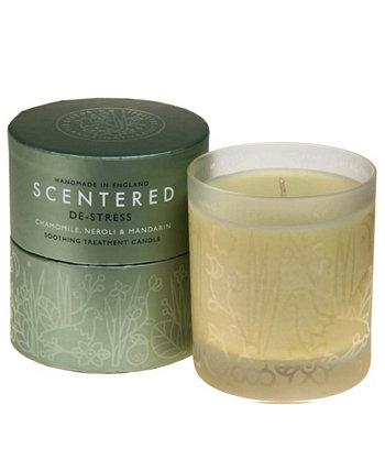 De-Stress Домашняя ароматерапевтическая свеча, 7,8 унции Scentered