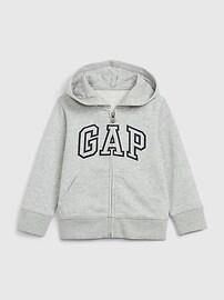 Толстовка с капюшоном и логотипом Toddler Gap Gap
