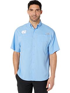 Рубашка с коротким рукавом North Carolina Tar Heels Collegiate Tamiami ™ II Columbia College