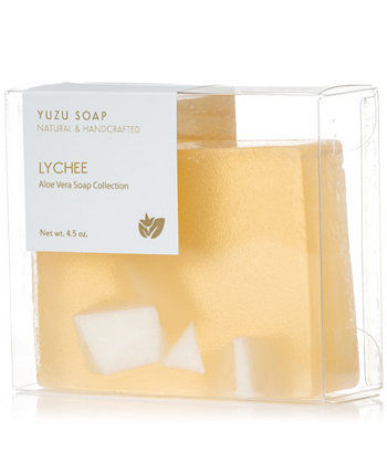 Мыло с личи и алоэ вера, 4,5 унции. Yuzu Soap
