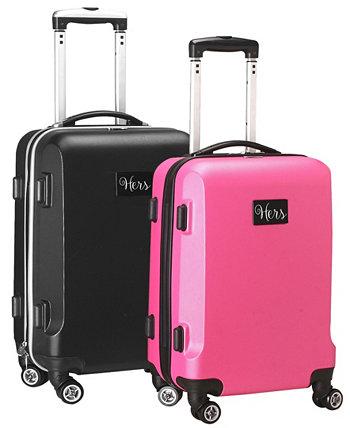 Комплект чемоданов Hers & Hers, 21 дюйм Mojo Licensing