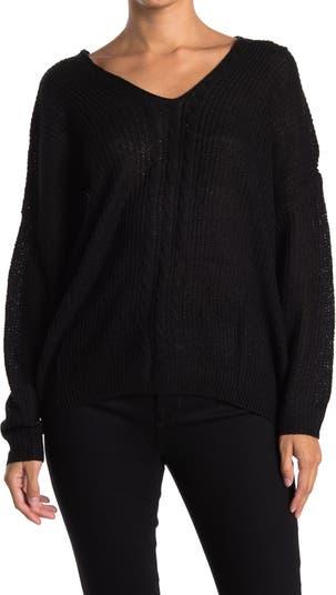 Вязаный свитер с V-образным вырезом Wishlist