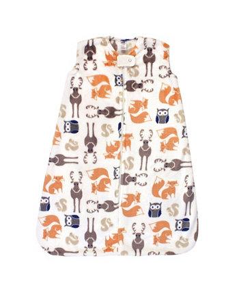 Boys and Girls Plush Sleeping Bag Hudson Baby