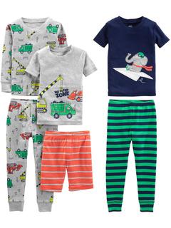 Хлопковая пижама Snug Fit из 6 предметов (для малышей) Simple Joys by Carter's