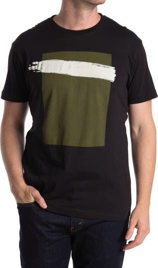Acrylic Stripe Graphic T-Shirt Vestige