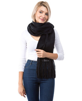 Женский шарф с бахромой Marcus Adler