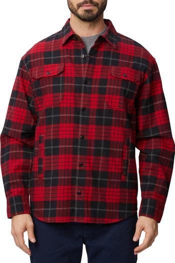Пиджак-рубашка в мягкую клетку Heavyweight Rainforest