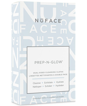 5-Рк. Очищают, отшелушивают, увлажняют ткани Prep-N-Glow NuFACE