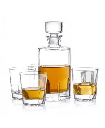 Набор графинов для виски Carina из 5 шт. JoyJolt