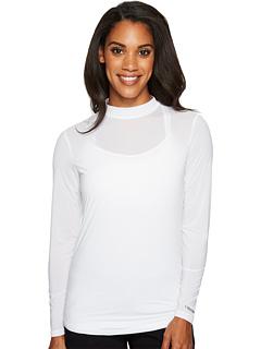 Многослойная рубашка с воротником-стойкой Sunsense® Jamie Sadock