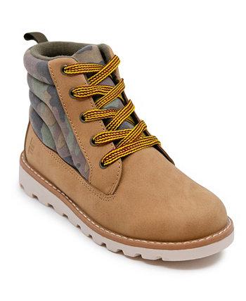 Камуфляжные рабочие ботинки для маленьких мальчиков London Fog