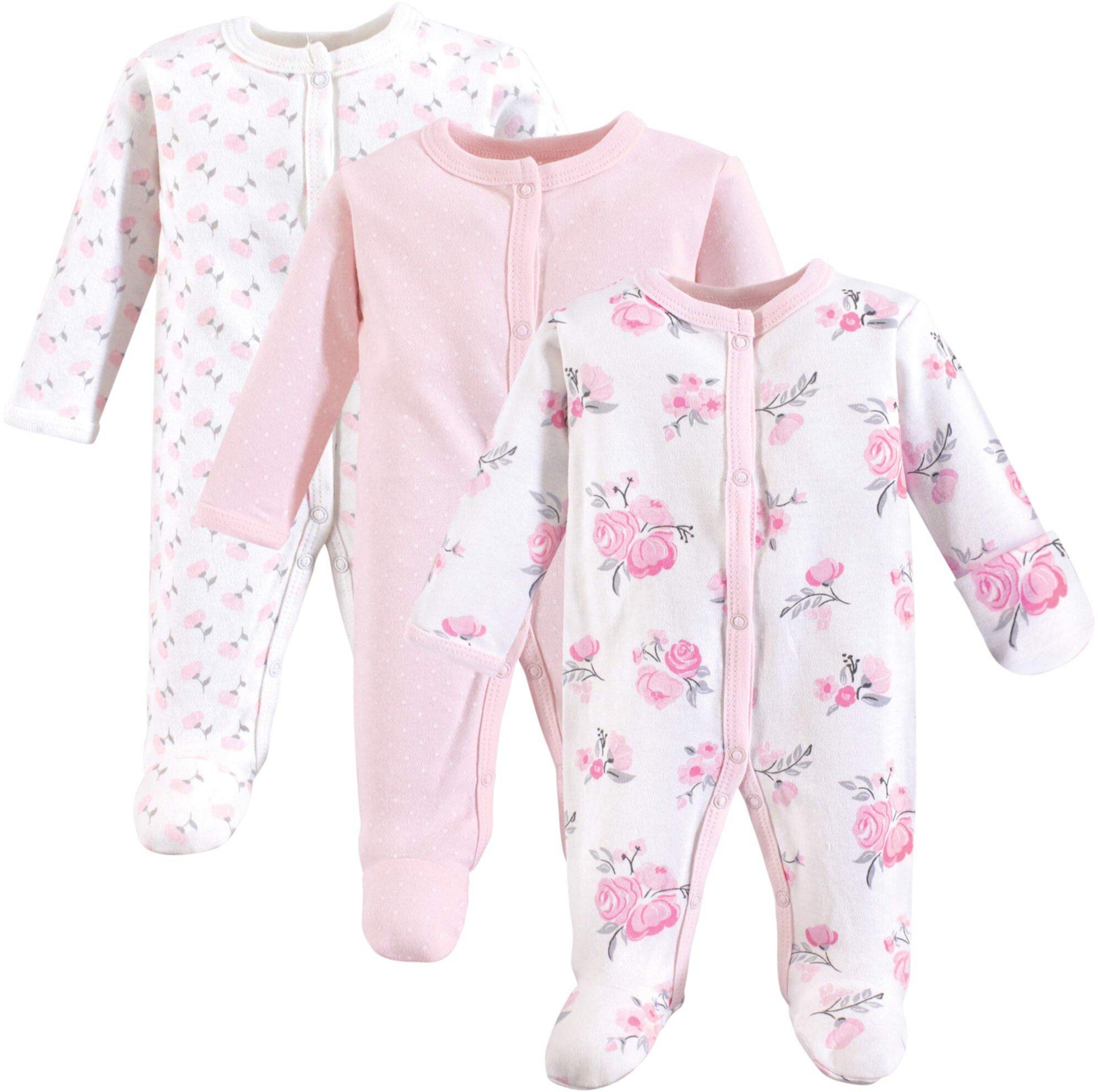 Cotton Preemie Sleep and Play (Infant) Hudson Baby