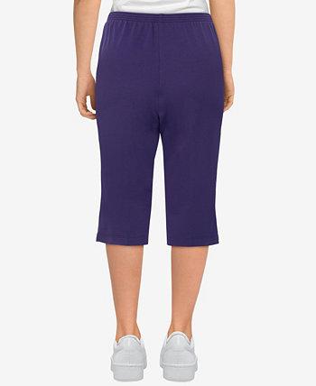 Plus Size Easy Living Comfort Knit Capri Pants Alfred Dunner