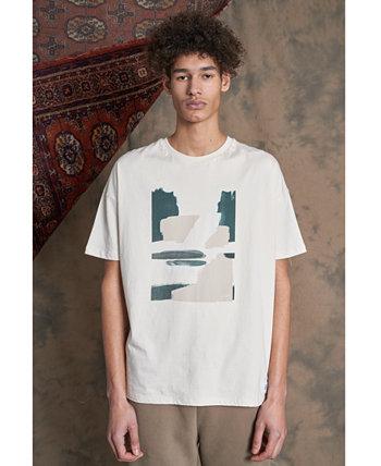 Мужская футболка с принтом Brushstroke Native Tongue NATIVE YOUTH