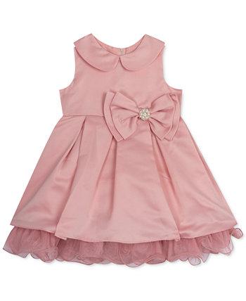 Сетчатое платье с оборками для маленьких девочек Rare Editions