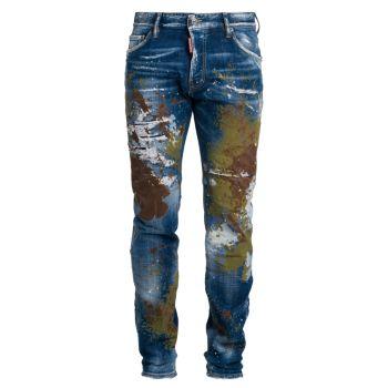 Джинсы Cool Guy Paint Splatter DSQUARED2