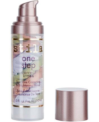 Праймер One Step Correct Kitten Skin для коррекции и осветления тона кожи, 1 унция. Stila