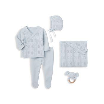 Набор из пяти подарочных коробок для маленьких мальчиков Elegant Baby