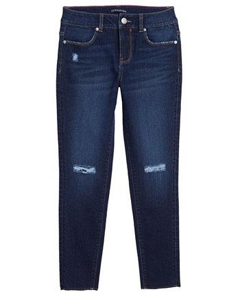Джинсы-скинни с разрывами до колен для больших девочек Calvin Klein