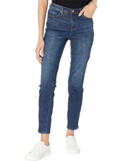 Ультралегкие джинсы скинни с манжетами на манжетах Nicole Miller New York