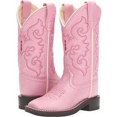 R Toe w / Silver Toe Rand (Малыш / Маленький ребенок) Old West Kids Boots