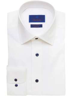 Рубашка с отделкой Twill Fit David Donahue