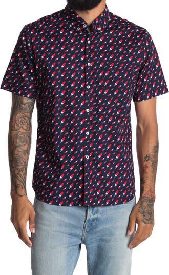 Рубашка на пуговицах с коротким рукавом Ice Pop PUBLIC ART