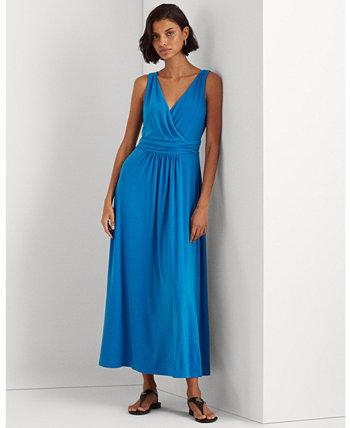 Платье без рукавов из джерси Ralph Lauren