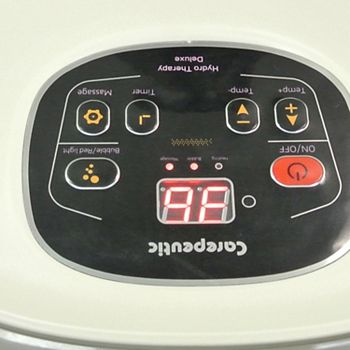 Carepeutic KH301 Motorized Hydro Therapy Foot & Leg Spa Bath Massager Carepeutic