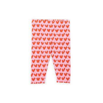 Леггинсы для маленьких девочек с принтом в виде сердечек Stella McCartney Kids