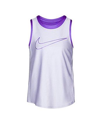 Little Girls Layered Tank Top Nike