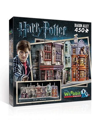 """Коллекция Гарри Поттера - Головоломка """"Аллея Диагоналей"""" - 450 штук Wrebbit"""