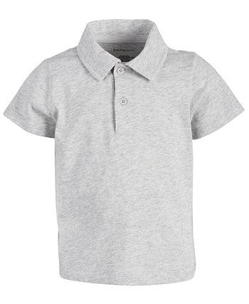 Хлопковая футболка-поло из джерси для малышей, созданная для Macy's First Impressions