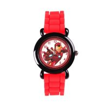 Marvel Iron Man Kids' Black Plastic Watch Marvel