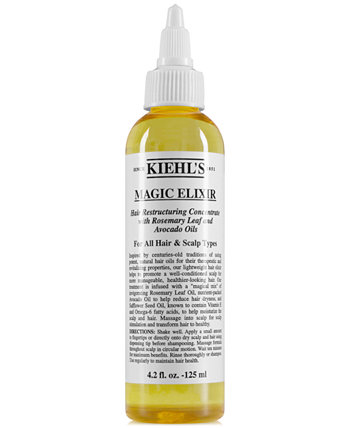 Magic Elixir Концентрат для Реструктуризации Волос, 4.2 унции. Kiehl's Since 1851