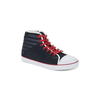 Детские высокие кроссовки Armani Junior