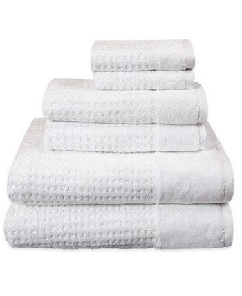 Набор текстурированных банных полотенец Spa Check, 6 предметов American Dawn