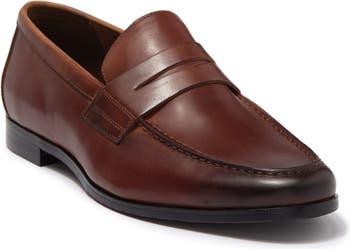 Zane Leather Penny Loafer Gordon Rush