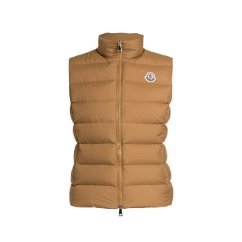 Ghany Matte Down Quilted Vest Moncler