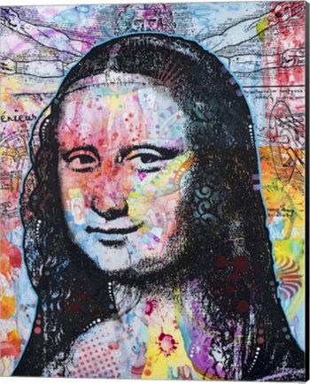 Мона Лиза Поп 2 Дина Руссо Искусство холста Metaverse