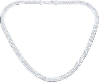 Элегантное серебряное колье-цепочка Bling Jewelry