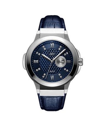 Мужские часы Saxon Diamond (1/6 карат. Вес.) Из нержавеющей стали, 48 мм JBW