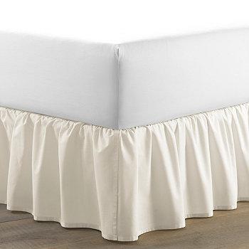 Юбка-кровать цвета слоновой кости с цельной рюшами Laura Ashley