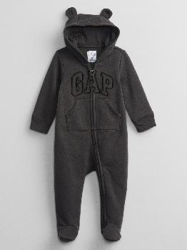 Толстовка с капюшоном с логотипом Baby Gap One-Piece Gap Factory