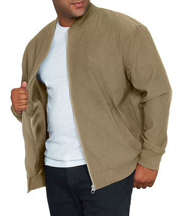 Mvp Collections Men's Big and Tall Bomber Jacket Mvp Collections By Mo Vaughn Productions